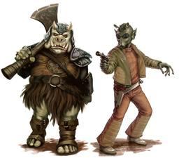 Gorak and Krok