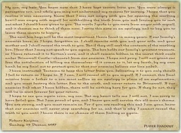 Rokuro's Letter