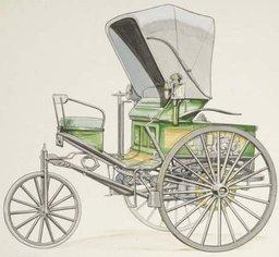 Benz Patent Motorwagen 3