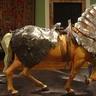 Elothian Plate Armor Barding