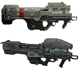 Energy Rifle, Mark VII Blaster