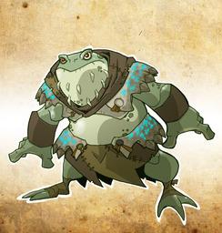 Hissblood, Bullywug Ranger