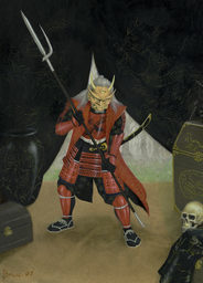The Oni Mage