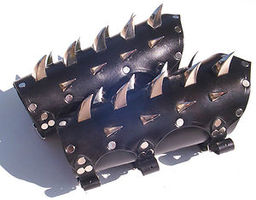 Spiked Bracers