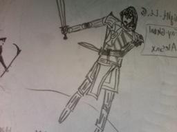 Knight-Lt. Fay-Ghoul Alesax