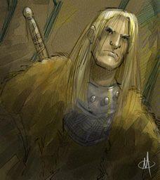 Sir Tullweim Grimnir; Fjellet.  Sønn av Ulaf Grimnir.