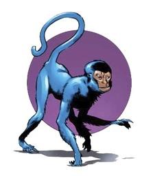 Cosmo the Moon Monkey