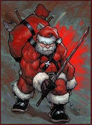 Christophe Kerin-Gal' - The Battle Santa