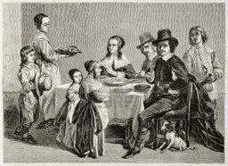 Karsk och Tora Renman med familj