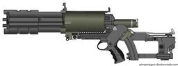 Ganaducci- Mil-3 Pulse Rifle