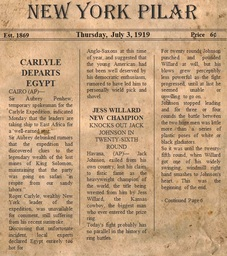 Carlyle Expedition Clipping #3