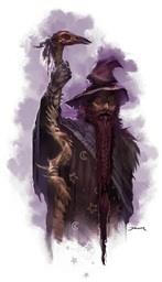 Curuvar the Wizard