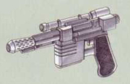 Medium Heavy Blaster Pistol