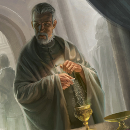 Terjon,  Cleric