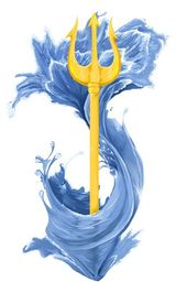 The Golden Trident of the Sea