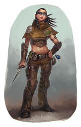 Lysandra, Keeper of Secrets (Fey Agent)