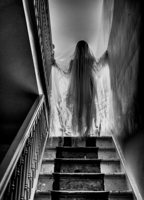 The Ghost at the top of the Stairs