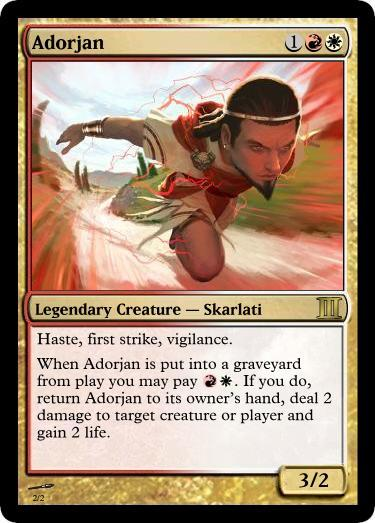Adorjan Magic Card