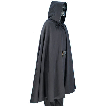 Black Elven Cloak