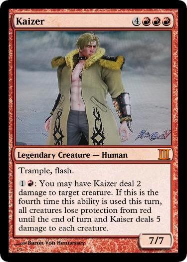 Kaizer Magic Card