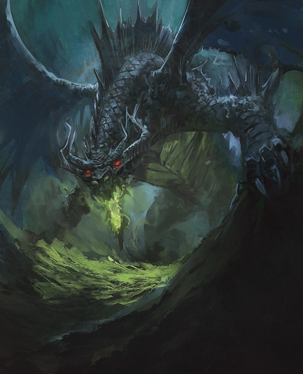 Thoss Fyurnen, the Sun Swallower, Chosen of Talona