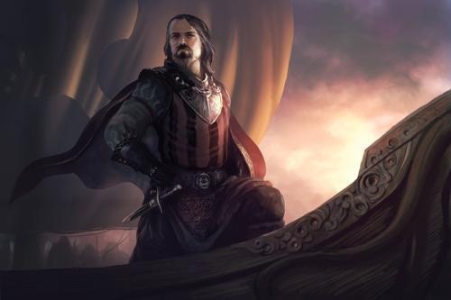 Captain Lewis Shane d'Lyrandar