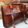 Old Leather Briefcase