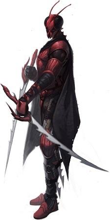 Roter Mantis