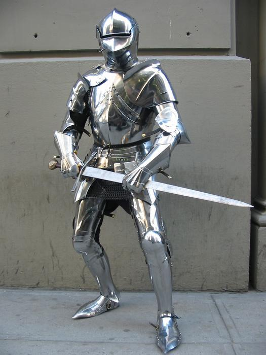 The Man in Armour