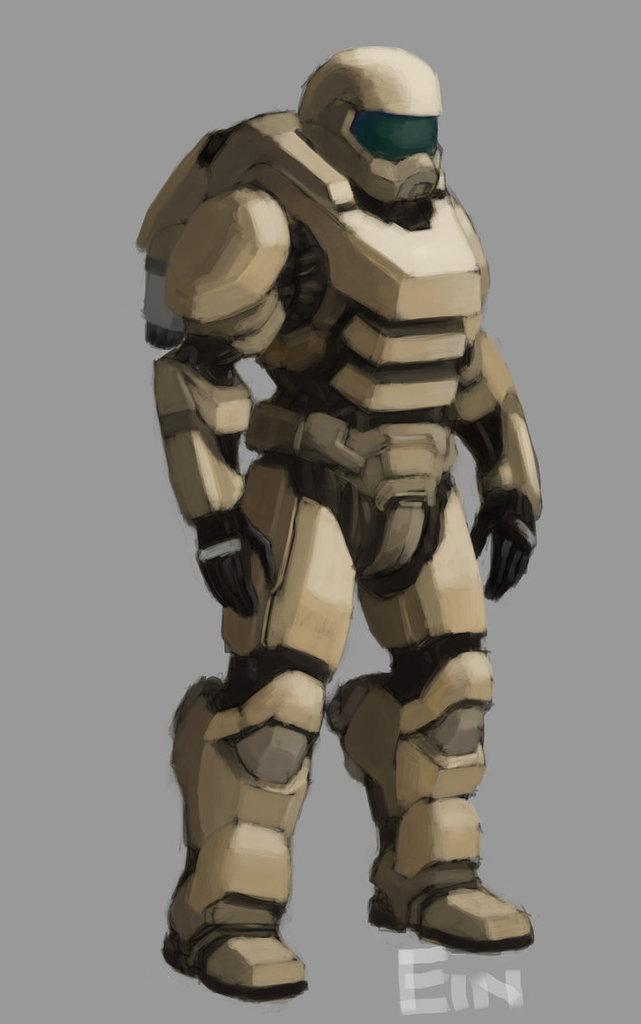 "Marine Combat Suit - ""Voidsuit"""
