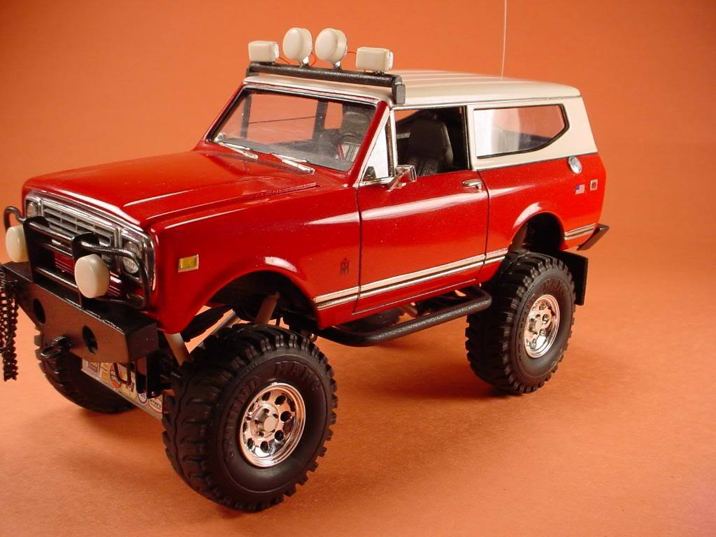Red the International Scout II