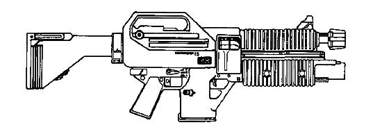 SK-19 Assault Rifle