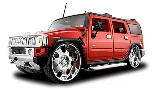 Winter's Luxury Hummer