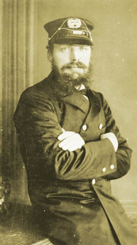 Isaac Hull, Kaptein