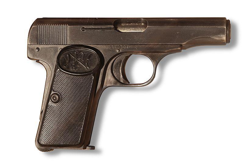 FN M1910, serial number 19074