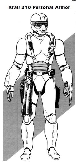 Krail 210 Personal Armor