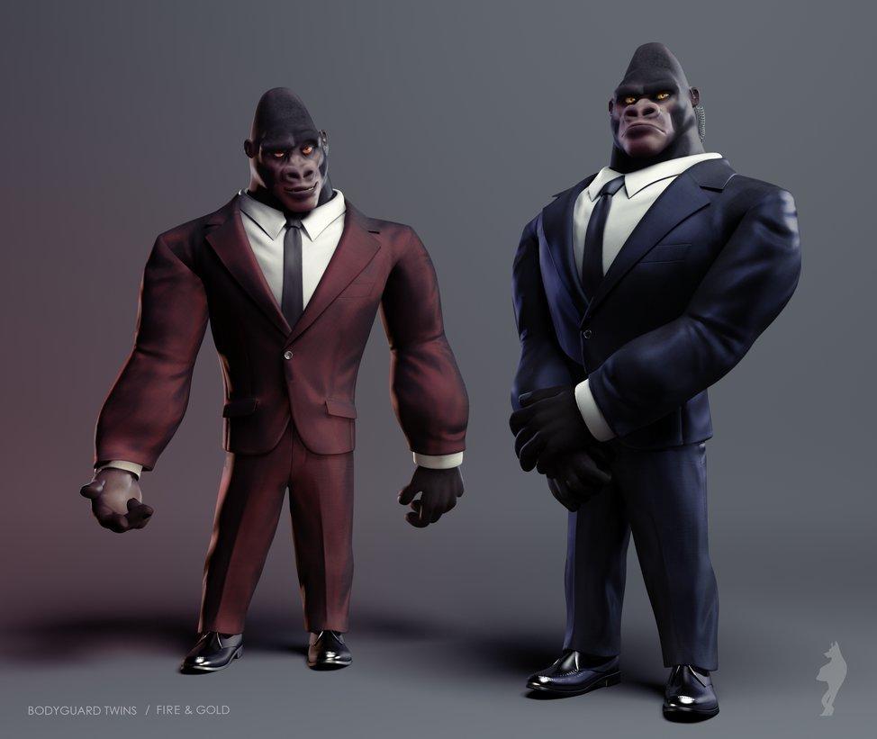 Pongo and Tito