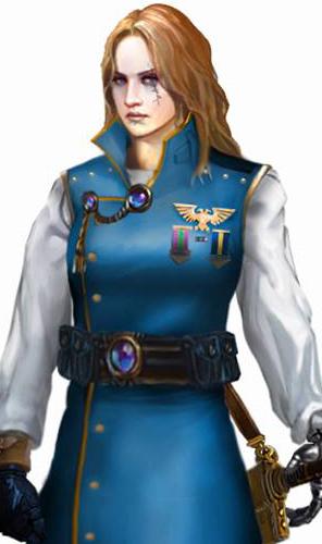 Capitaine Cornelia Caegus