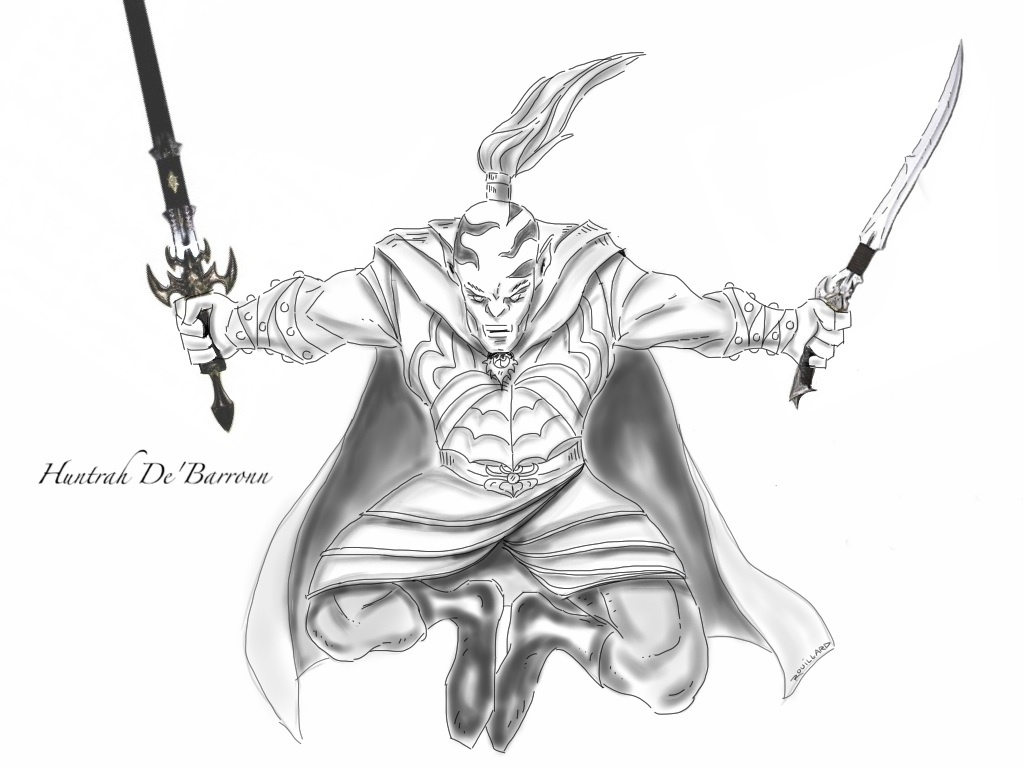 Huntrah De'Barronn (4e Character)
