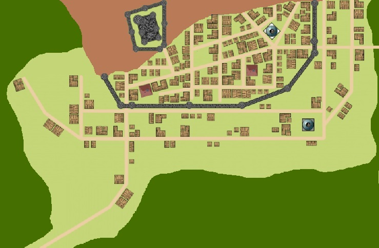 Map of Fort Wigglesworth