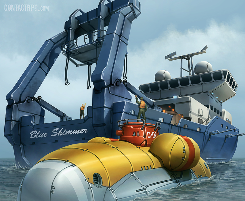"Dynamika ""Beluga"" Deep Submersible"