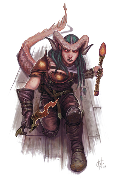Shaor the Tiefling