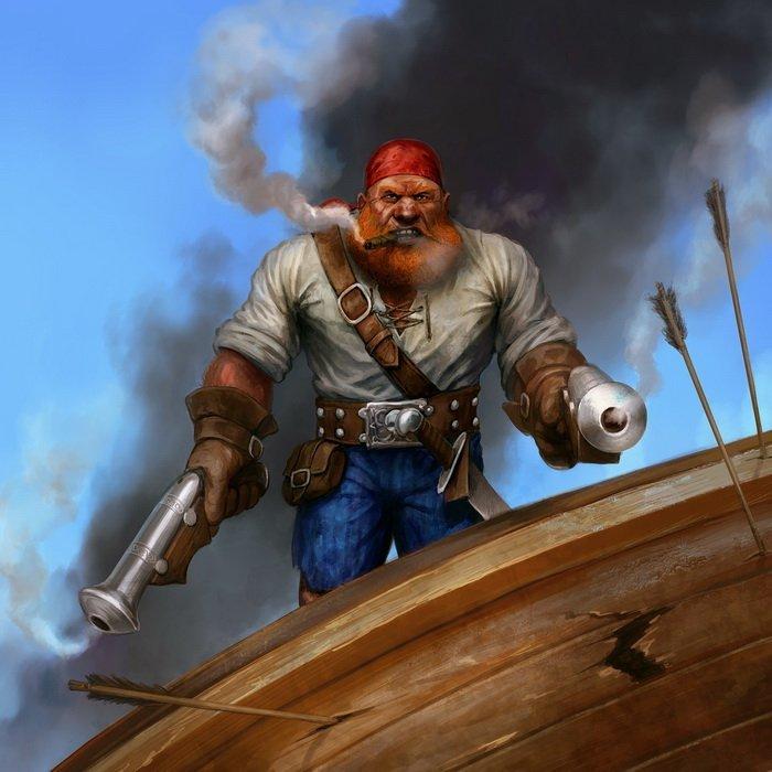 Captain Garosh Redbeard