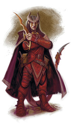 Cultist Tiefling Heretic
