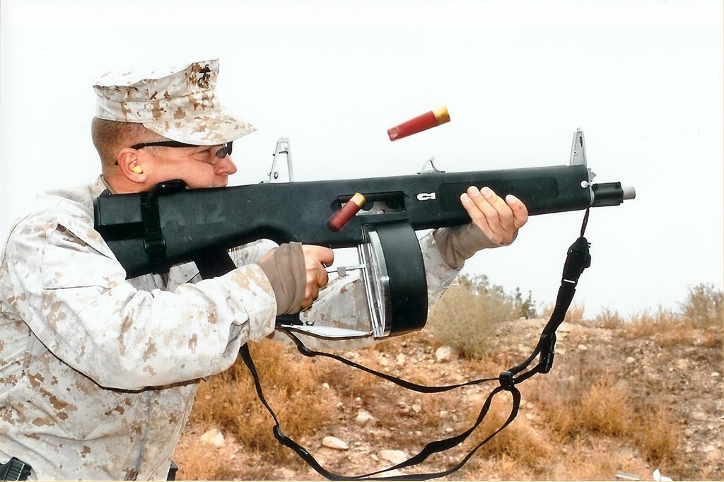 Weapon: Atchisson Assault Shotgun (AA-12)