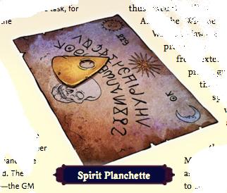 Spirt Planchette