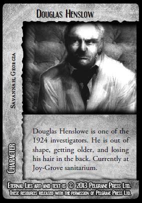 Douglas Henslow