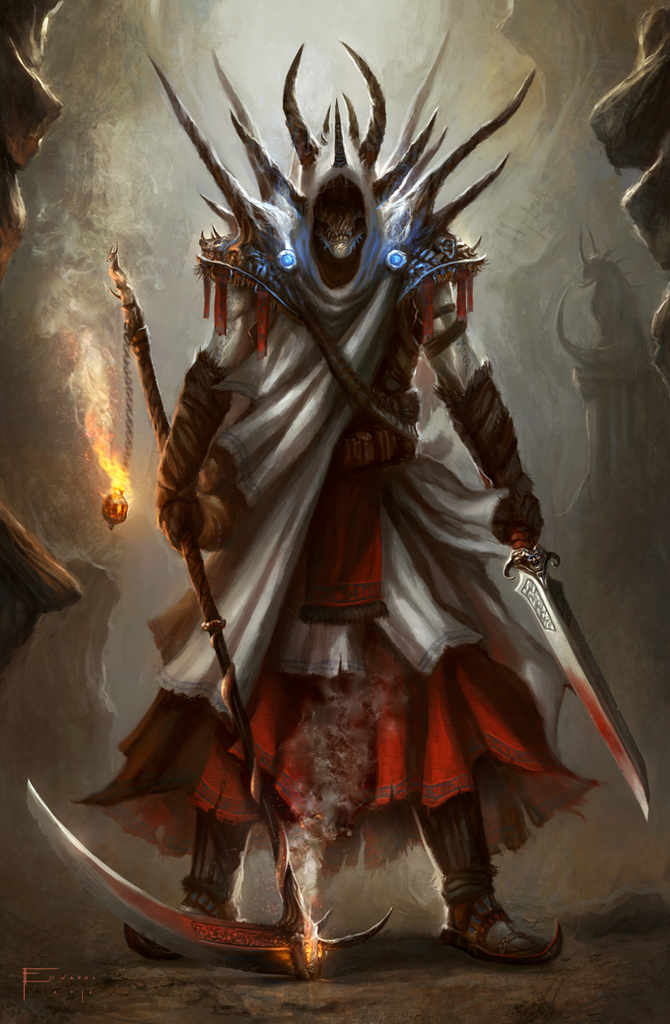 Angulax the Corruptor (White Fire)