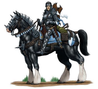 Besar (Hvy Warhorse)