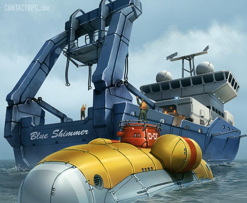 M. V. Blue Shimmer